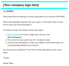 5 examples of testimonial request emails that work