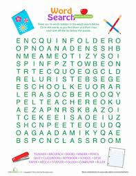 printable word search puzzles for 1st graders football word search worksheet education com