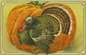 4 vintage thanksgiving postcards turkeys auld lang syne