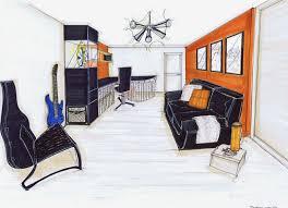 aménagement d un bureau à la maison aménagement d une maison sur plan 91 bureau chambre d amis