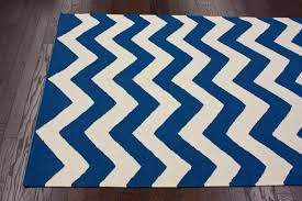 Area Rugs In Blue by Blue Chevron Rug Roselawnlutheran