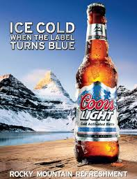 coors light on sale near me how cold is coors light s super cold beer