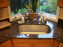 Kitchen How To Install A Kitchen Sink And Faucet - Kitchen counter with sink