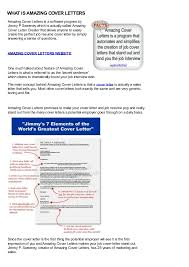 What Is A Cover Sheet For Resume Amazing Cover Letters Jimmy Sweeney Http Wpdia Info 2acl