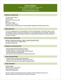 Sample Resume For Fresh College Graduate Sample Resume Format For Fresh Graduates Two Page Format With