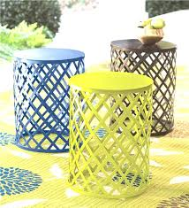 Patio Side Tables Metal Design Metal Patio Side Table Inspiration Idea Metal Patio Side