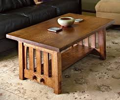Woodworking Plans For Coffee Table by How To Build A Mission Style Coffee Table In The Arts And Crafts
