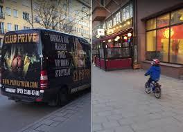 it happens little boy on bike distracted by ladies on van