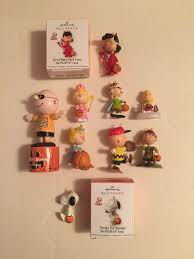 lot hallmark keepsake ornaments peanuts halloween lucy charlie