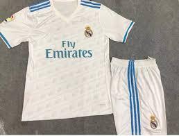 Baju Adidas Ori baju bola anak real madrid home 2018 adidas jual jersey real
