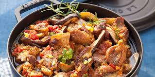 agneau cuisine agneau à la crétoise facile recette sur cuisine actuelle