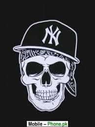 yankee skull with fitted cap n y yankees pinterest ny yankees