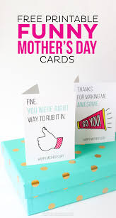 Mother S Day Designs Free Printable Funny Mother U0027s Day Cards Thirty Handmade Days