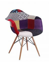Designer Chairs by Daw Eames Patchwork Chair Design Seats Buy Designer Chairs Online