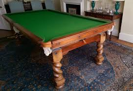 Pool Dining Table by M984 8 Ft Oak Barley Twist Convertible Snooker Pool Dining Table