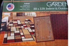 8x12 Area Rug Costco Deal Orian Rugs Garden Collection 8 X12 Area Rug 114 99