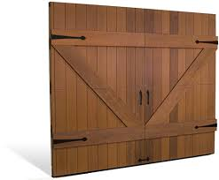 Overhead Doors Nj Cocoa Wood Carriage Style Doors Overhead Door Of America