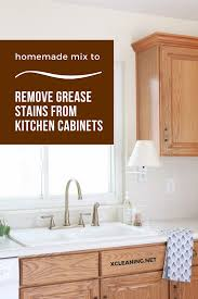 how to remove grease stain from kitchen cabinets how to remove grease from kitchen cabinets page 1 line