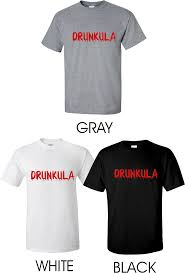 Halloween T Shirt Costumes Drunkula T Shirt Halloween Party Dracula Shirt Halloween Costume Shirt