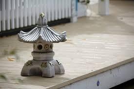 garden ornaments single top japanese pagoda lantern