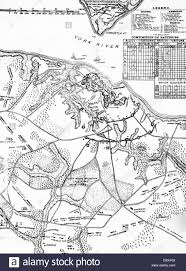 Map Of The Hamptons 1700s 1770s 1781 Map Of Hampton Roads Showing Placements During