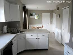 Paint White Kitchen Cabinets How To Paint Cabinets White East Coast Creative Blog