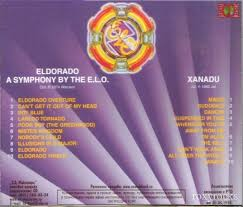 electric light orchestra eldorado cd eldorado a symphony by the e l o xanadu