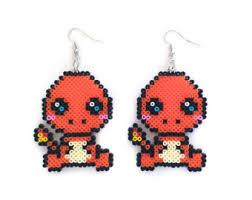 starter earrings water starter earrings earrings pixel gamer geeky hamma