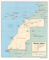 Map Of Western Mexico by Western Sahara Saharan Arab Democratic Republic