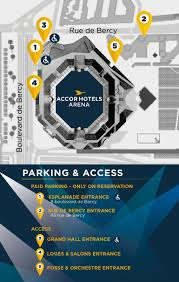 disabled access accorhotels arena