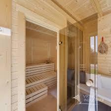 sauna glass doors sauna cube 4x3 viking industrier