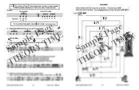 theory time grade six workbook hardcopy workbook piano