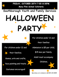 halloween adults games southborough youth and family services halloween party on friday night