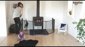 babydan hearth gate fire guard how to use babysecurity youtube