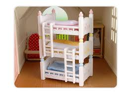 Baby Bunk Bed Genuine Sylvanian Families Mini Removable Baby Bunk Bed Set