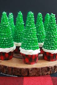 Christmas Tree Frosting Love And Confections Cupcakes Cannoli And Chocolate Dip 3