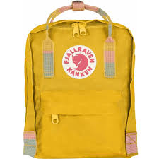 fjallraven mini bag warm yellow random blocked packs u0026 bags from