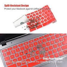acer chromebook keyboard light red keyboard cover protector skin for acer chromebook 11 6 cb3 111