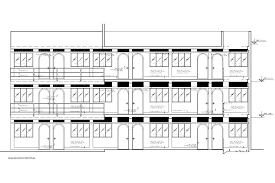 lodging hotel accommodation lodge dormitory 2d dwg full project