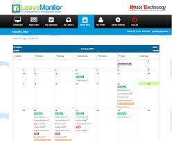 staff leave planner template leave monito employee leave planner tour employee leave management system