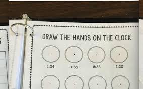 interactive math work books the autism helper