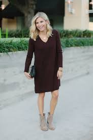 the sweaterdress the perfect last minute thanksgiving idea