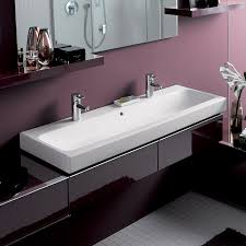 bissonnet 124020 elements wall mount or above counter ceramic sink