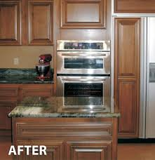 How Do You Reface Kitchen Cabinets Updated Kitchen Cabinet Refacing Ideashome Design Styling