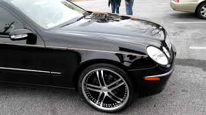 Mercedes Benz E 2003 Rimtyme Custom Wheels Of Jonesboro Ga 2003 Mercedes Benz On Xix