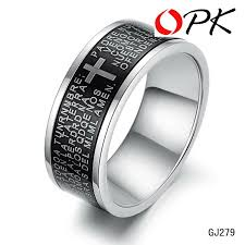 cool rings for men opk brand design royal square ruby rings for men inlaid austria