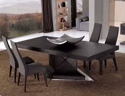 modern square dining table creditrestore us contemporary table black wooden best black room and board dining tables modern pedestal dining table compact