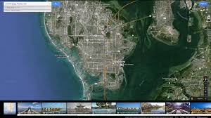 Clearwater Florida Map by St Petersburg Florida Map