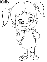 little girls coloring pages coloringstar