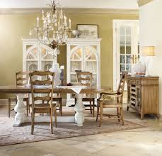 chic coterie double pedestal table is perfect setting for a